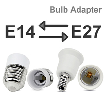 E27 to E14 to E27 Bulb Converter Bulb Extender Screw Sockets Lot Adapter Base Light Fitting Round Plastic Socket Holder LED Lamp цена и фото