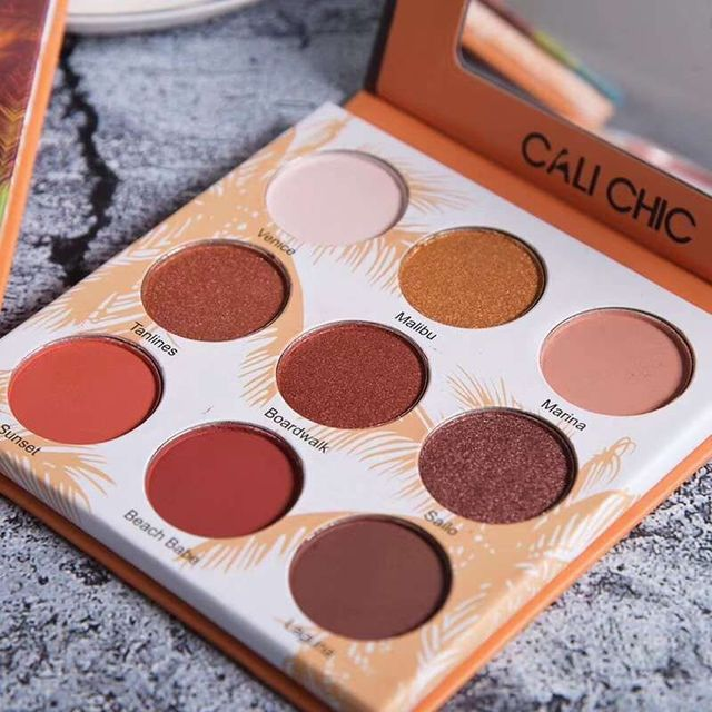 Givenone Eye Makeup Palette Matte Eyeshadow Pallete Glitter Powder Eye Shadow Earth Shadows Stamp Pigment Eyeshadow 1