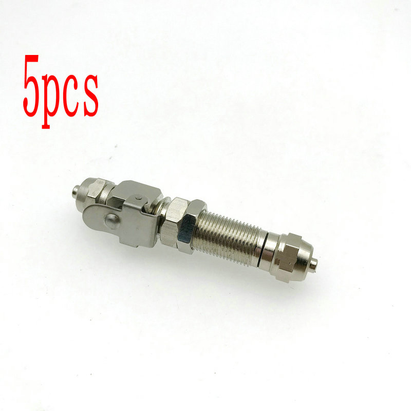 5PCS A Dental Air Water Quick Connector For Ultrasonic Scale Stainless Steel