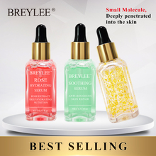Breylee Serum Series Rose Nourishing 24k Gold Anti-aging Collagen Essence Whitening Deep Repairing Face Skin Care Acne Treatment цена