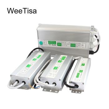 12V LED Power Supply 24V Waterproof IP67 AC 110V 220V to DC 24 12 Volt LED Driver  10W 20W 30W 60W 100W 120W 200W Transformer 12v 24v power supply ip67 waterproof 12v transformer led driver power supply 10w 20w 30w 50w 80w 100w 120w 150w 200w 250w 300w