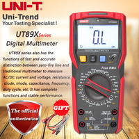 UNI T UT89X/UT89XD professional NCV digital multimeter; true RMS digital multimeter  20A high current digital multimeter Multimeters     -