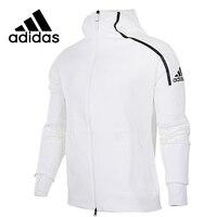 Адидас Zne оригинальный Новое поступление мужская куртка с капюшоном для бега дышащая быстросохнущая Высококачественная Спортивная одежда