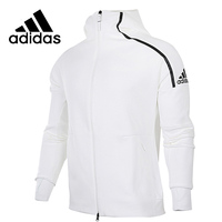 Adidas Zne Original New Arrival Men's Running Hooded Jacket Breathable Quick Dry High Quality Outdoor Sportwear #CD6277