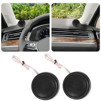 1 Pair Car Dome Tweeter Speakers 100W 98dB Super Power Audio Loudspeakers Auto Audio Sound Car Tweeters image