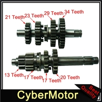 Gear Box Main Counter Shafts For Zongshen Z155 155cc 1P60YMJ Pit Dirt Bike Pitster Pro SSR Lucky MX WPB M2R