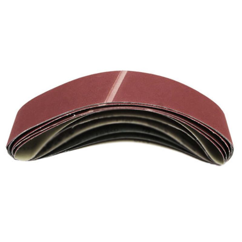 Image 2 - 6Pcs 915*100mm Sanding Belts Aluminum Oxide 60/80/100/120/150/180 Grits Abrasive for Angle Grinder Machine Abrasive Tools-in Abrasive Tools from Tools