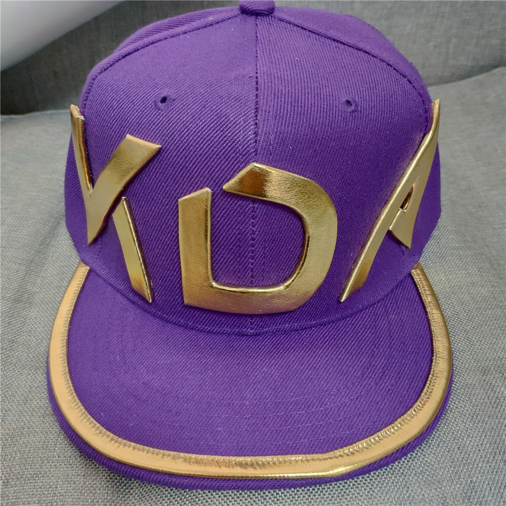 New Game K/DA KDA K\da For Mask Akali Hat Adult Kids Cosplay Costume Cap Handmade LOL Cosplay For Men Headwear Hip Hop Hat Hats