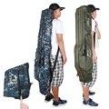 Klapp Angeln Taschen 120cm 150 cm Leinwand 3-Schicht Tragbare Angelrute Reel Pole Lagerung Tasche Pesca Angehen