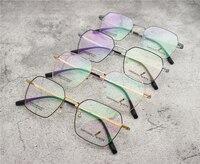 21ff55af17 2019 New Designer Woman Glasses Irregular Shape Glasses Frame Clear Lens  Eyeware Black Silver Gold Eye