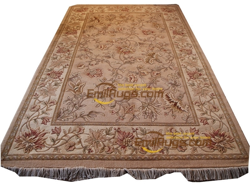 Bedroom Bed Mat Carpets Handwoven Home Decore Round Carpet Room Floor Decoration Antique Vintage Wool Knitting Carpets