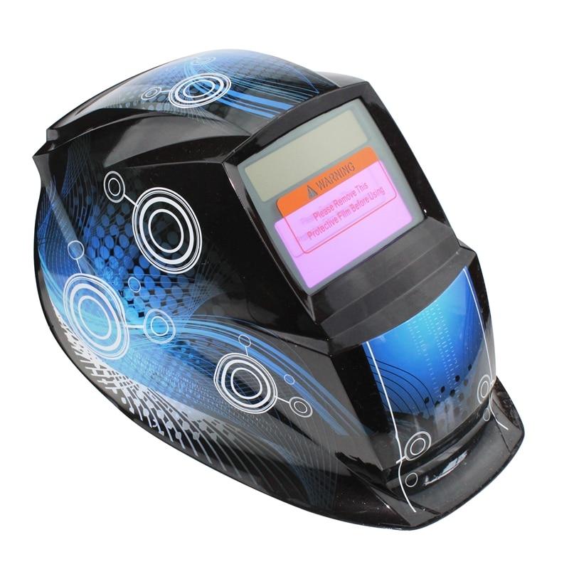 Sammlung Hier Hlzs-2018 Pro Solar Schweißer Maske Auto-verdunkelung Schweiß Helm Muster Quadrat Kreis Bequemes GefüHl
