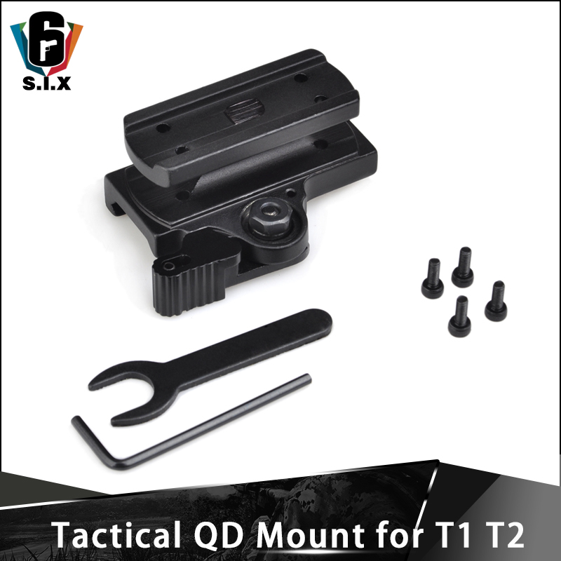 Tactical QD Mount for T1 and T2 Red Dot Scope Mount image
