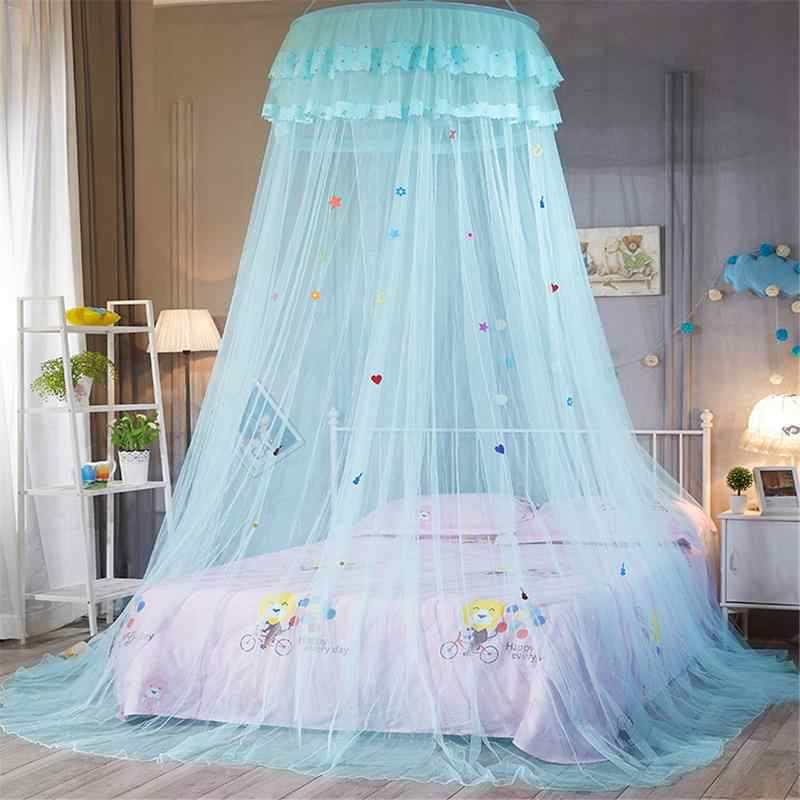 Baby Crib Netting Dome Ceiling Suspended Bed Canopy Princess Queen Mosquito Net Bed Tent Baby Bed Summer Mosquito Essentials