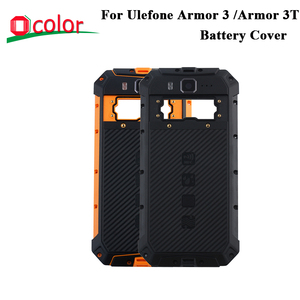 Image 1 - ocolor For Ulefone Armor 3 Battery Cover Hard Bateria Protective Back Cover Replacement For Ulefone Armor 3T Phone Battery Case