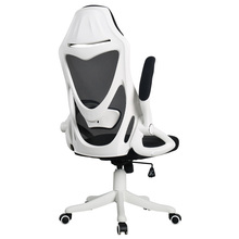 Cloth Computer Chair Multifunction Flexible Gaming Lifted Rotation Office Stool Mesh Breathable Soft Boss Seat
