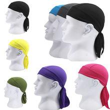 Дышащая многофункциональная Мужская велосипедная повязка на голову велосипедная бандана пиратский платок на голову