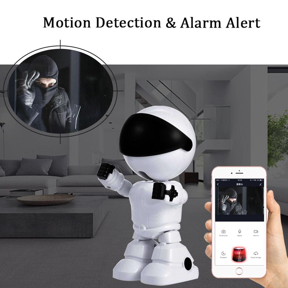 Baby Camera 1080P HD Wireless Smart Baby Monitor WiFi IP ROBOT Camera  Audio Video Record Surveillance Home Security Camera