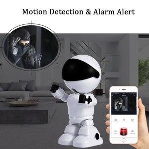 Image 3 - Caméra de Surveillance intelligente IP WiFi HD 1080P, dispositif de sécurité domestique sans fil, babyphone vidéo, avec enregistrement Audio et vidéo