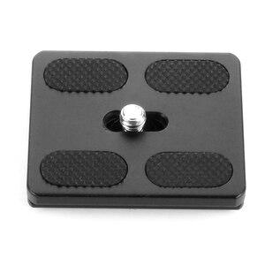 Image 2 - BGNing PU50 Quick Release Plate Tripod Ball Head Monopods with 1/4 inch Screw Universal for Benro Arca Swiss Tripod Ballhead
