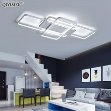Dimming LED Ceiling Lights post modern style for living room study room decorative lampshade ceiling lamp lamparas de techo