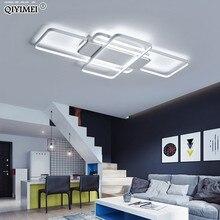 Luces LED de techo de atenuación, poste de estilo moderno para sala de estar, estudio, habitación, lámpara de techo decorativa