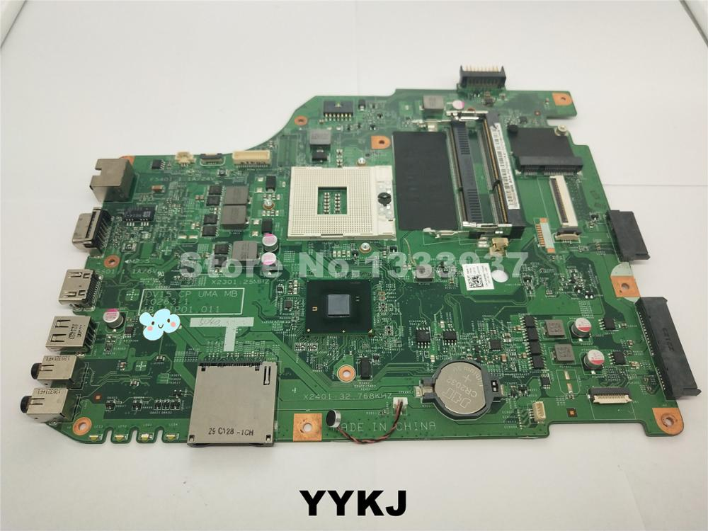 Tested Dell DV15 CP UMA MB X6P88 DDR3 989 Motherboard