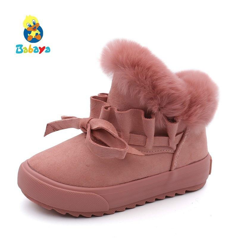 Childrens Shoes Girls Snow Boots Plus Velvet Boots Shoes 2018 Winter New Girls Winter Shoes Cotton BootsChildrens Shoes Girls Snow Boots Plus Velvet Boots Shoes 2018 Winter New Girls Winter Shoes Cotton Boots