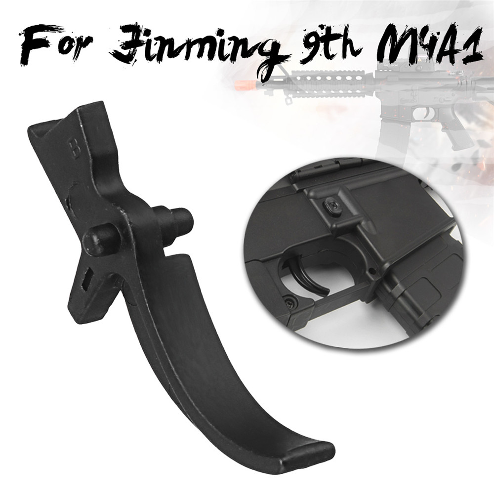 Upgrade Metal Trigger For Jinming Gen 9 M4A1 Water Gel Ball Blasting Black Trigger Replacement Accessories