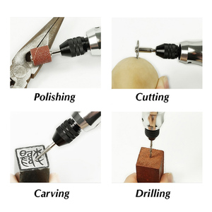 Image 3 - Tungfull Mini Cordless Drill Engraving Pen Electric Drill Grinder With Lithium Battery 3.7V Rechargeable Jade Carving Tool