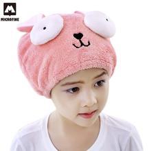 Мягкое Полотенце для волос Инструменты для купания шапочка для душа экологически чистые микрофибры аксессуары для полотенец полотенце на головной убор-чалма