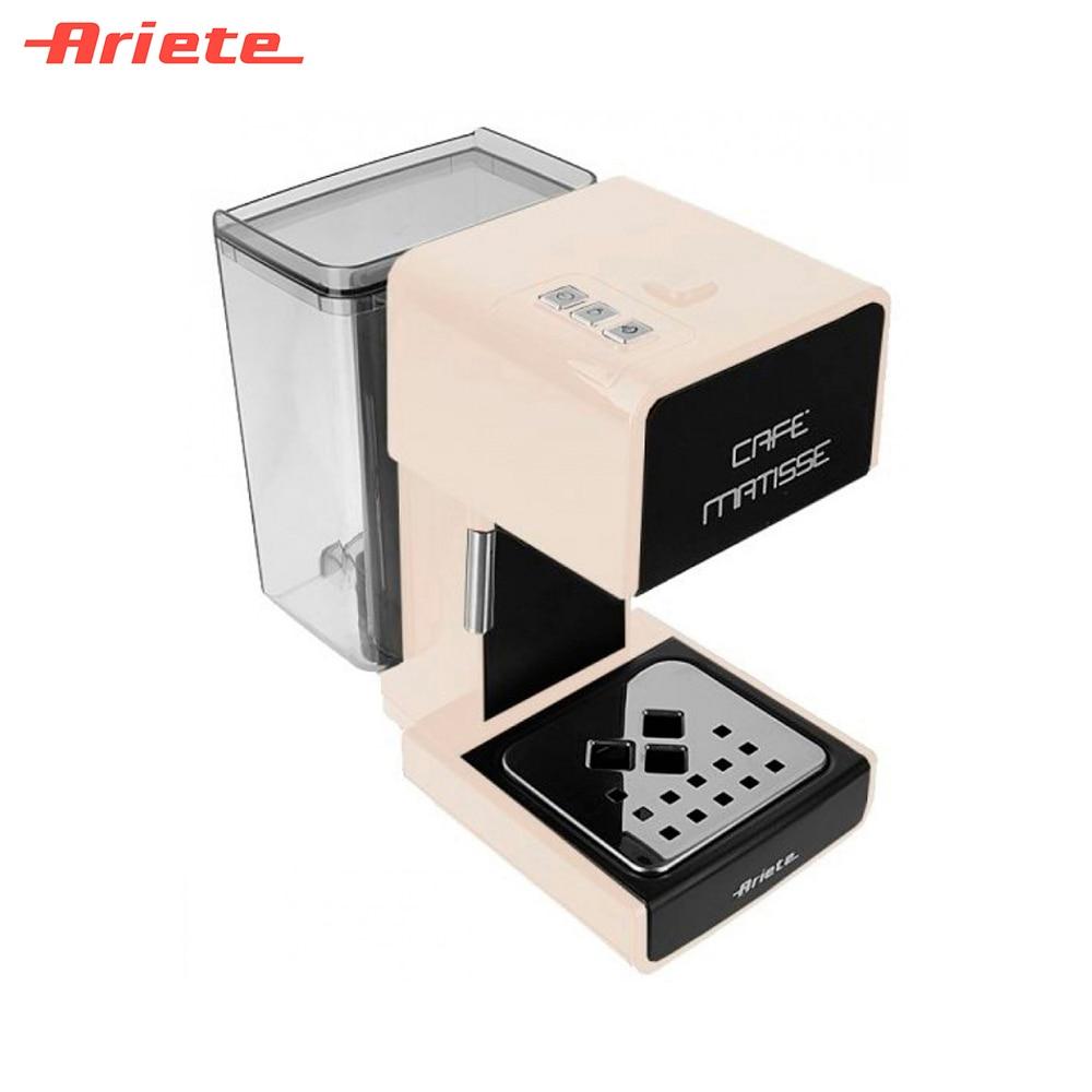 Coffee Makers Ariete 8003705113787 Home Appliances Kitchen Appliances maker machine capucino espresso late стоимость