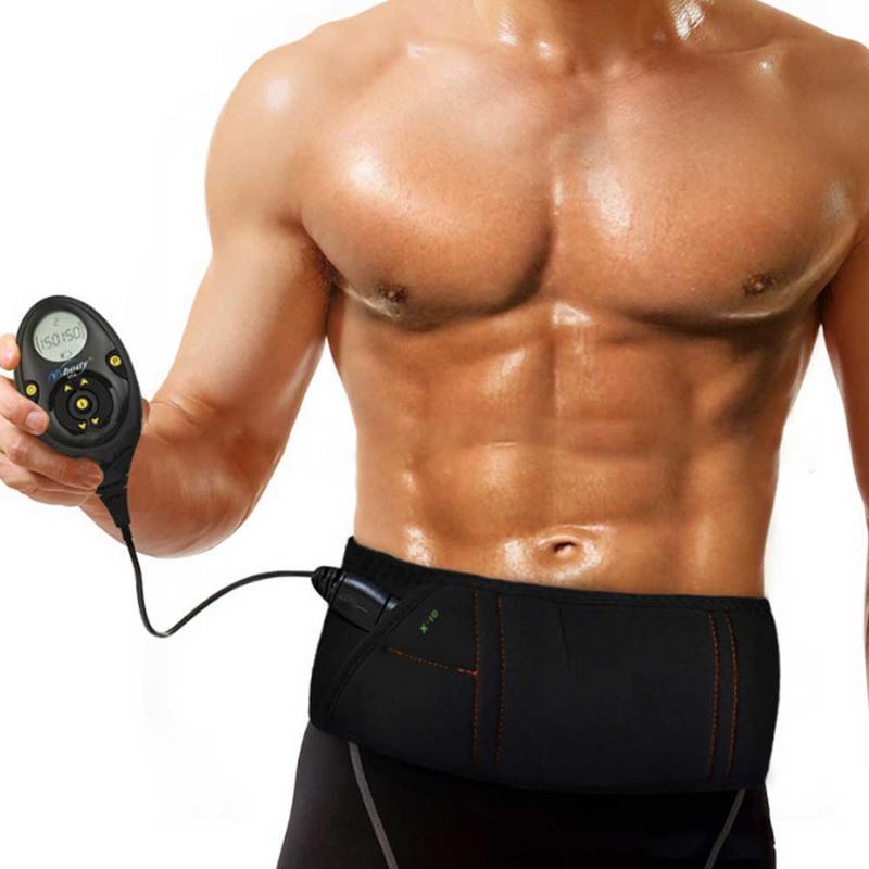 Ceinture abdominale Rechargeable sangle d'entraînement de musculation pratique AB équipement de Fitness d'exercice musculaire plus mince avec 10 Modes