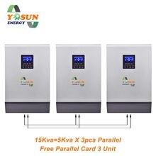 4000W 16000W PWM регулятором солнечного инвертора 5Kva~ 20Kva Инвертор 48В 230Vac чистая Синусоидальная волна инвертирующий усилитель 50A решеточный инвертор 60A Батарея Зарядное устройство