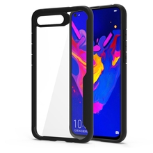 CASEWIN For Huawei Honor View 20 V20 Case Transparent Soft TPU Acrylic Shockproof Armor Cover Silicone Clear