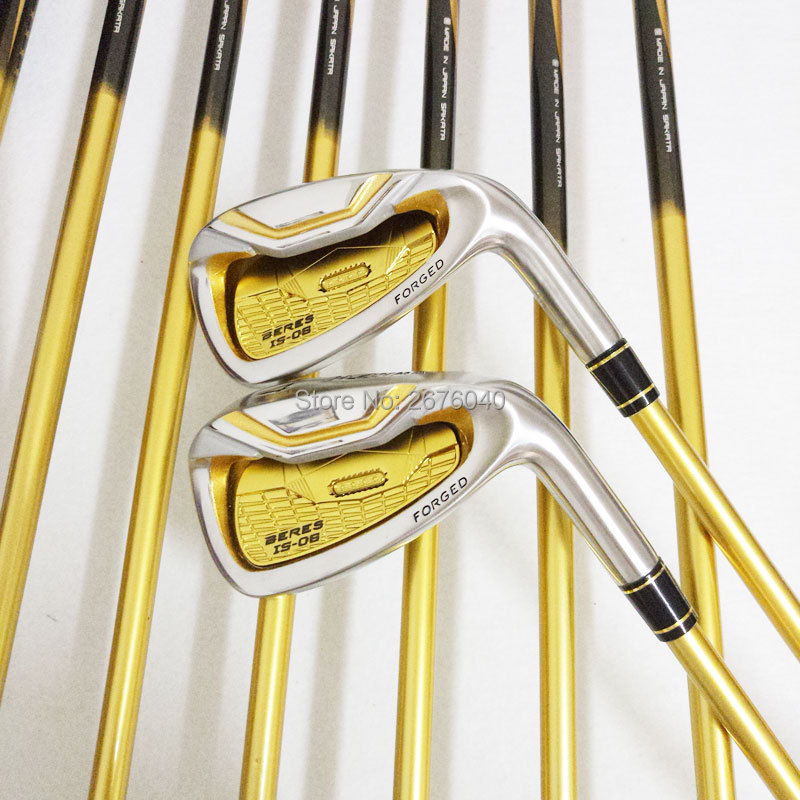 New Golf Clubs HONMA S 06 4star Golf irons set 4 11.Aw.Sw HONMA IS 06 irons Golf clubs Graphite shaft Free shipping