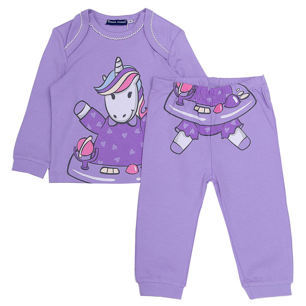 ORIGINAL MARINES Sleepwear & Robes 9501075 Cotton Baby Girls Clothing Pajamas MTpromo