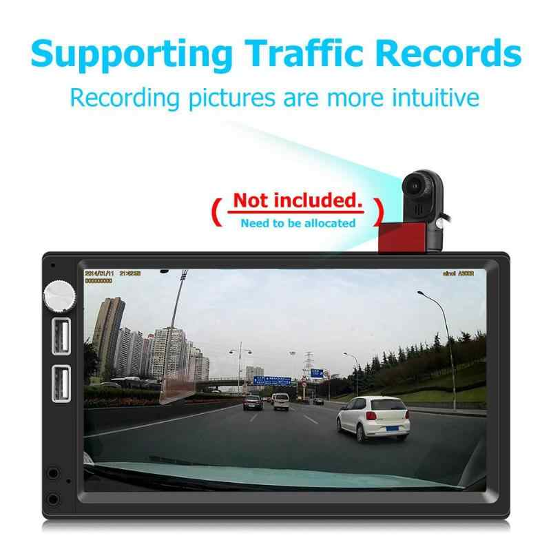 A5 7 Inch Android 8 1 Car Stereo MP5 Player GPS Navi FM Radio WiFi BT4 0  DVR input WiFi Mobile Phone Charging Multi function GPS