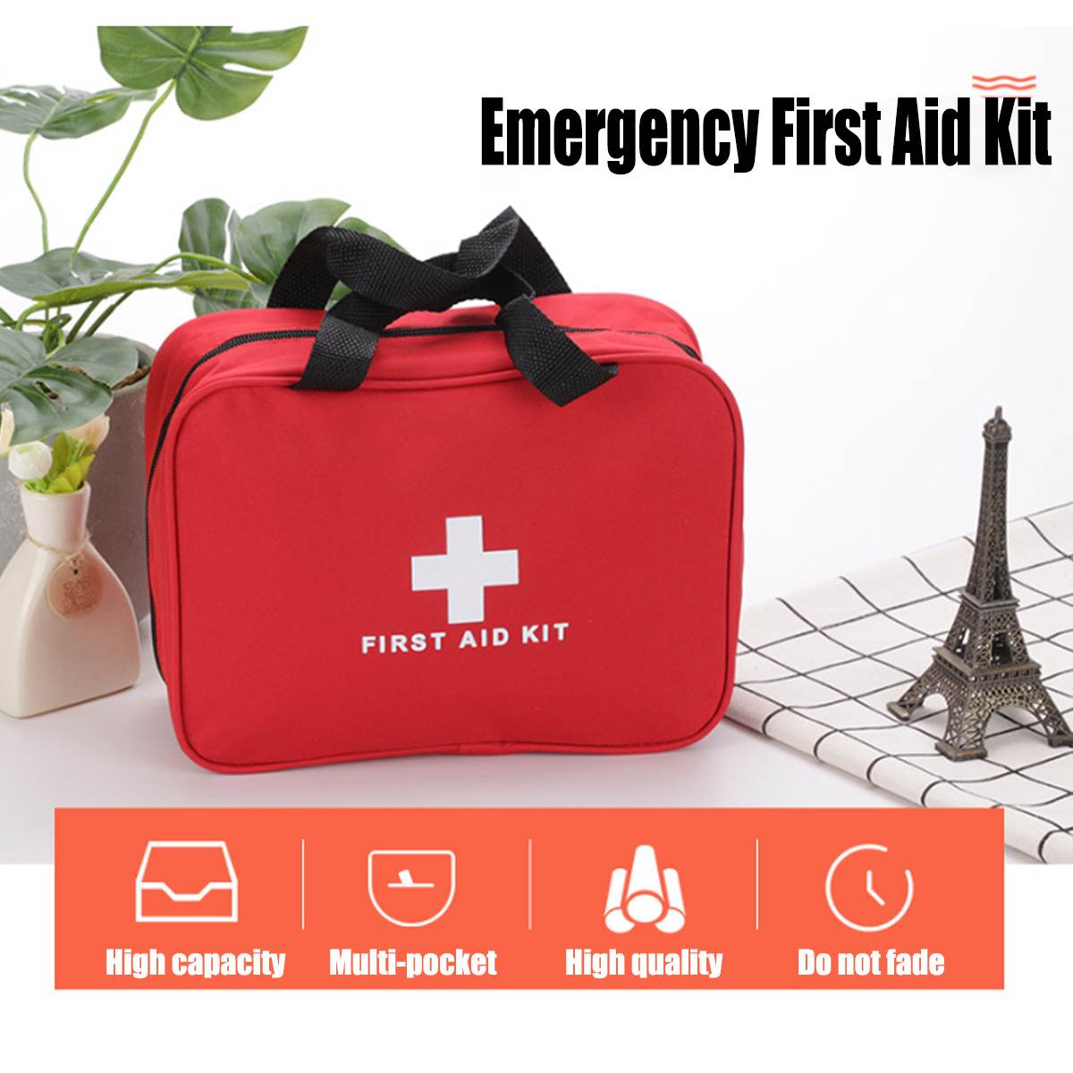 Trustful Empty Small 25*18*8cm Professional For Travel And Sports Emergency Survival First Aid Kit Medical Bag Camping & Hiking