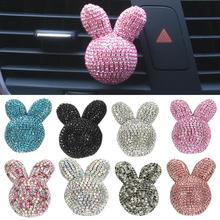 Ar Aromatherapy Accessories Encrusted Rabbit Air Conditioning Air Outlet Aromath