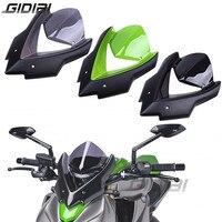 Bicicleta Double Bubble Windshield For Kawasaki Z1000 Z 1000 2015 2017 Windscreen Screen Wind Deflectors 15 17