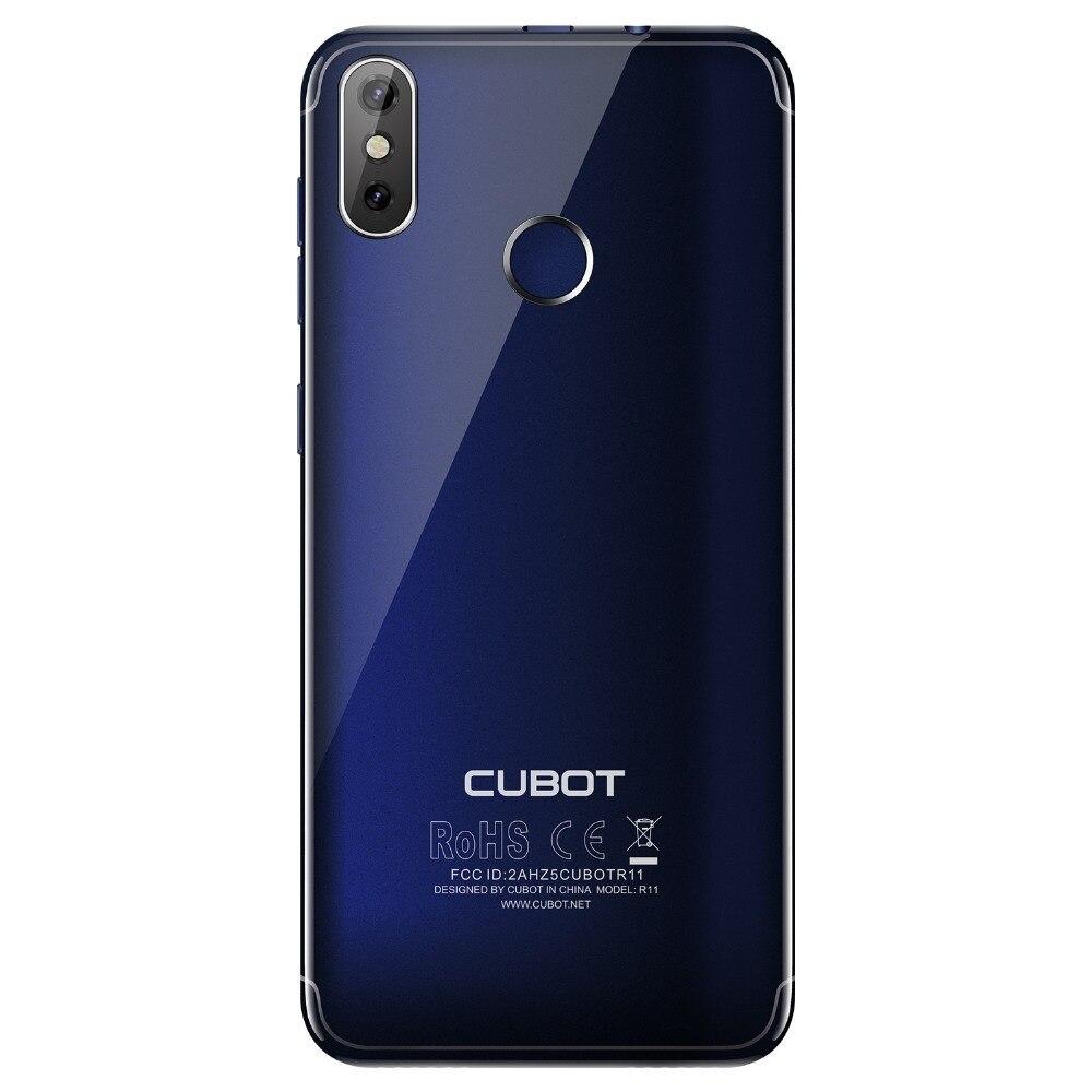 Cubot R11 Android 8,1 de 5,5 3G Smartphone 18:9 HD + pantalla MT6580 teléfono móvil Quad Core 2G RAM 16G ROM doble a las cámaras de los teléfonos celulares - 5