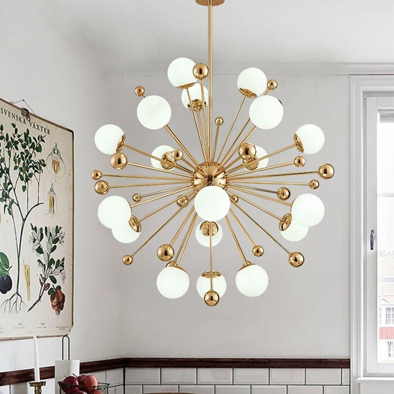 Ceiling Lights & Fans Lights & Lighting Creative Dandelion Northern Europe Circle Alarm Pendant Light Loft Industry Lamp For Bedro Living Room Bar Coffee Shop