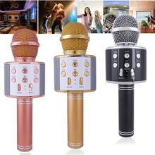 KTV Microphone Professional Bluetooth Wireless Microphone Karaoke Microphone Speaker Music Player Pocket MIC Singing Recorder(China)