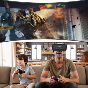 Image 5 - Gafas VR 3D de realidad Virtual con control remoto, miniauriculares VR, casco, gafas, estéreo Hifi, auriculares, consola de juegos con micrófono # Y2