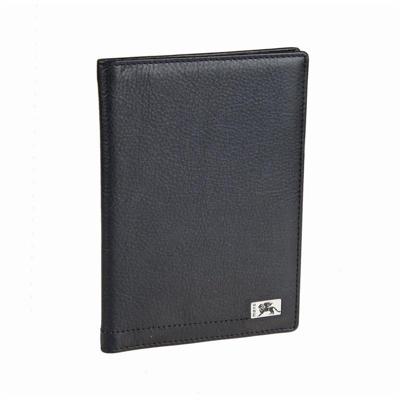Passport cover Mano Rus8 black passport cover o 31 sh plum