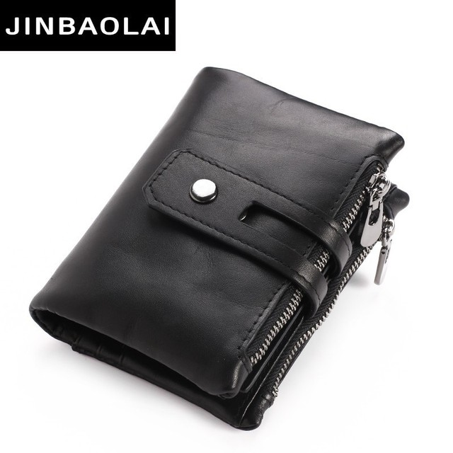 546abe2bd0b9 Best Brand Wallet Men Leather Men Wallet Purse Short Male Clutch Leather  Wallet Mens Money Bag Quality Guarantee Coin Bag Zipper
