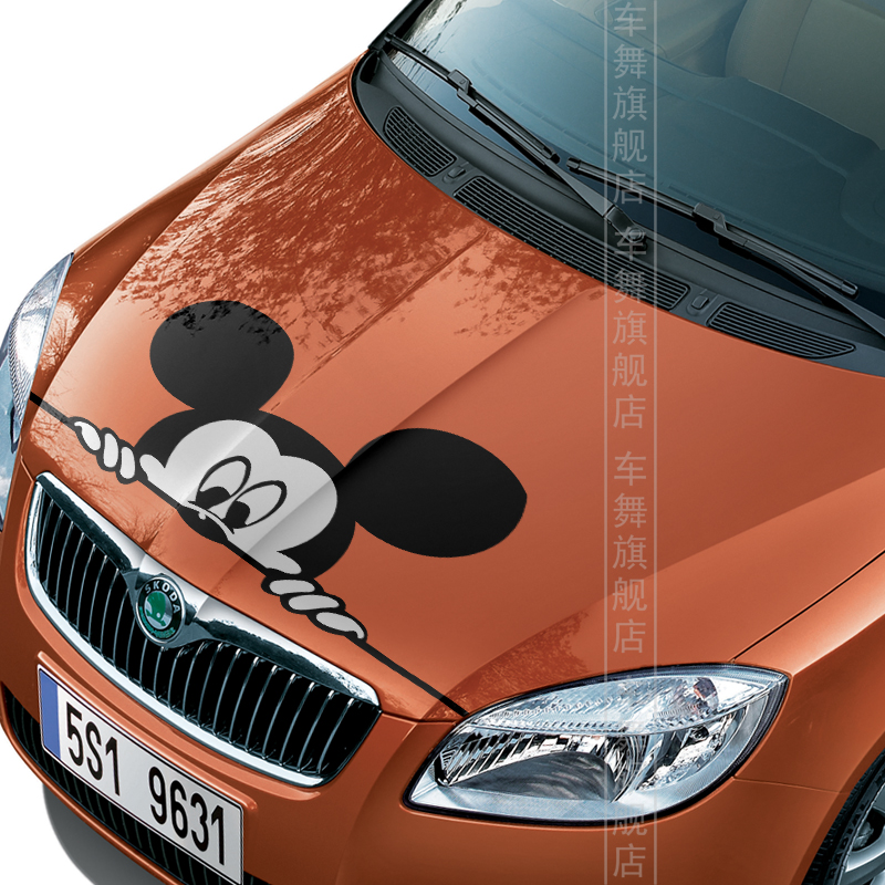 Mickey Mouse Cartoon Hat Sticker Bumper Decal /'/'SIZES/'/'