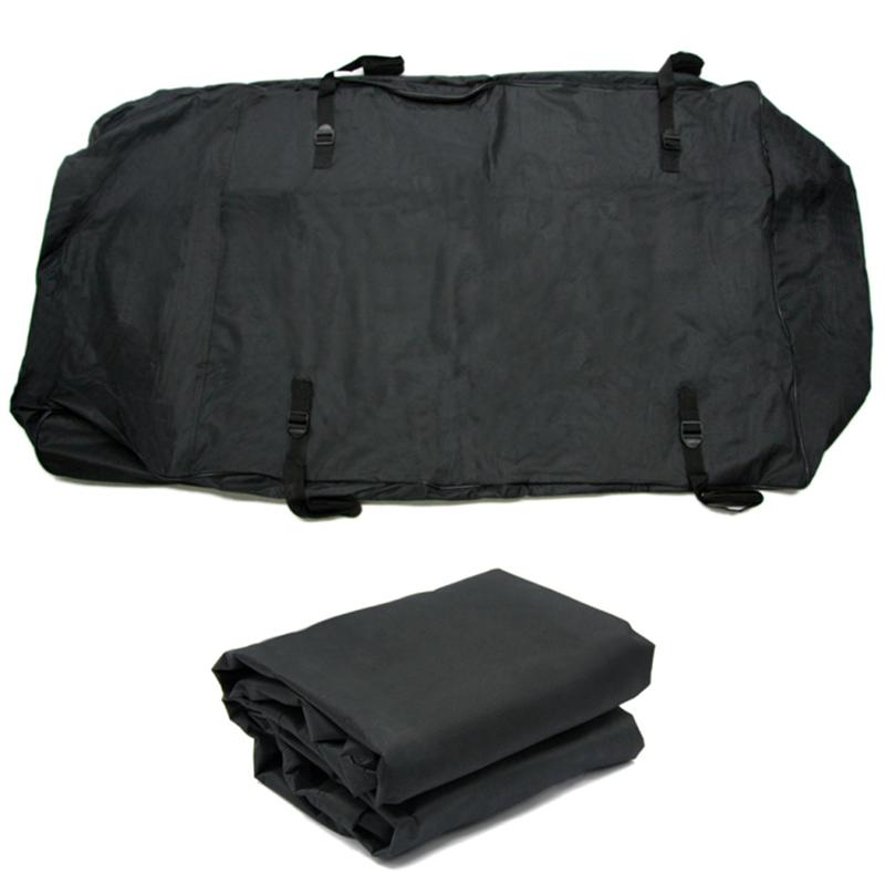 Car Roof Top Bag Rack Cargo Carrier Luggage Storage Travel Waterproof Bag For Universal Vehicle SUV