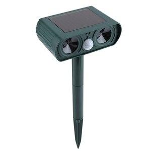 Image 5 - Garden Solar Ultrasonic Drive Pest RejectAnimal Bird Cat Dog Fox Repeller Repellent Built in Battery